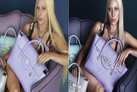 Lady Gaga: Οι ΣΟΚΑΡΙΣΤΙΚΕΣ PHOTOS για την καμπάνια Versace χωρίς photoshop!