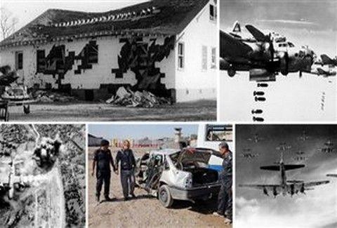 Ιστορικοί και...κατά ΛΑΘΟΣ!! - Ποιοι είναι οι βομβαρδισμοί που ΔΕΝ βρήκαν το σωστό στόχο;;; (PHOTOS+VIDEOS)