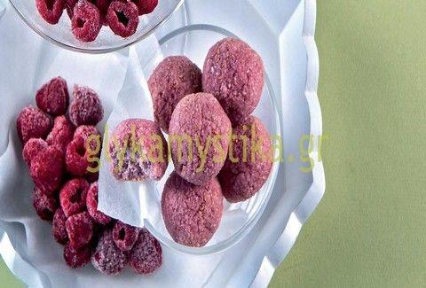 Τι λέτε για μπουκιές με καρύδα & raspberries; - Η λαχταριστή λιχουδιά!