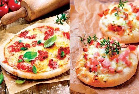 Μουντιαλικές συνταγές για πίτσα: Αγγλία - Ιταλία ή Μαργαρίτα vs Πιτσάκια με μπέικον!
