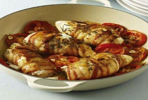 Τι θα φάμε σήμερα; - Κοτόπουλο γεμιστό με μουστάρδα και μοτσαρέλα!