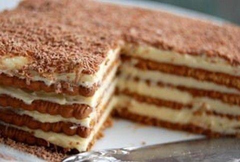 Τι θα λέγατε για ένα... ΛΑΧΤΑΡΙΣΤΟ γλυκό με μπισκότα;;;