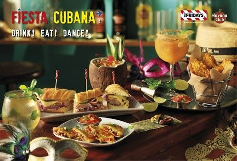 Fiesta Cubana: Τα TGI Fridays™ μας ταξιδεύουν στις γεύσεις της Κούβας!