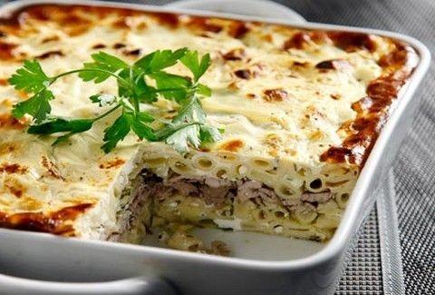 Το πιο ελαφρύ και γευστικό παστίτσιο! Παστίτσιο με ψαρονέφρι και κρέμα γιαουρτιού