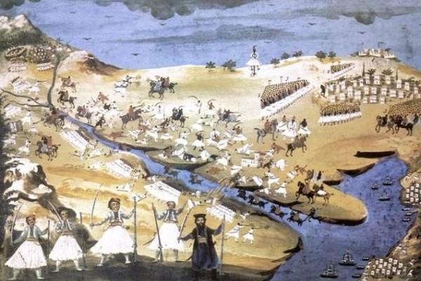 Σαν Σήμερα: 23 Απριλίου 1821: Η μάχη της Αλαμάνας!