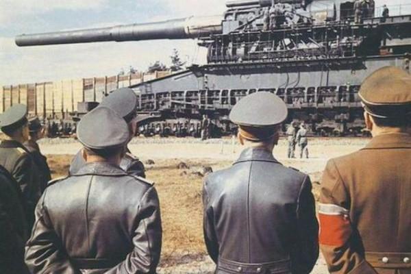 Εντυπωσιακό! Το μεγαλύτερο όπλο στην ιστορία που έφτιαξε ο Χίτλερ! Τι απέγινε;