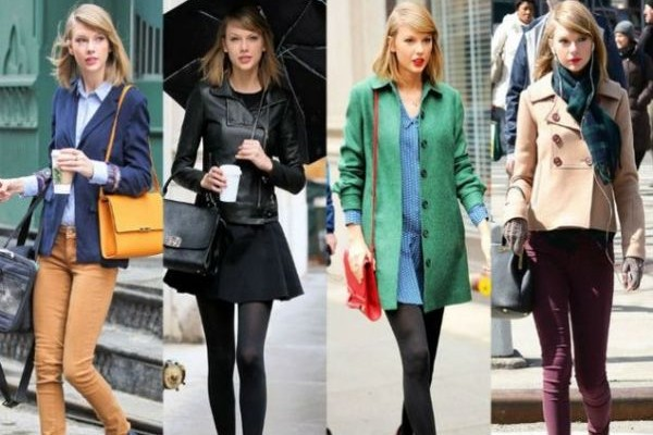 8f1d1ab98872 Η Tέιλορ Σουίφτ σου δείχνει 10 τρόπους να φορέσεις το πανωφόρι σου με στυλ!