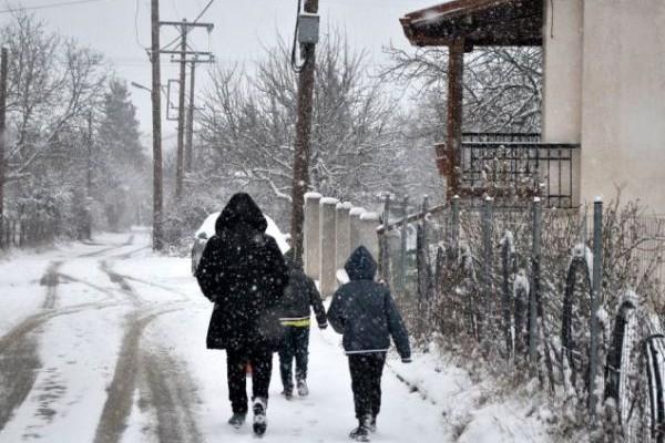 Έπεσαν τα πρώτα χιόνια: Ποια περιοχή της χώρας ντύθηκε από χτες στα