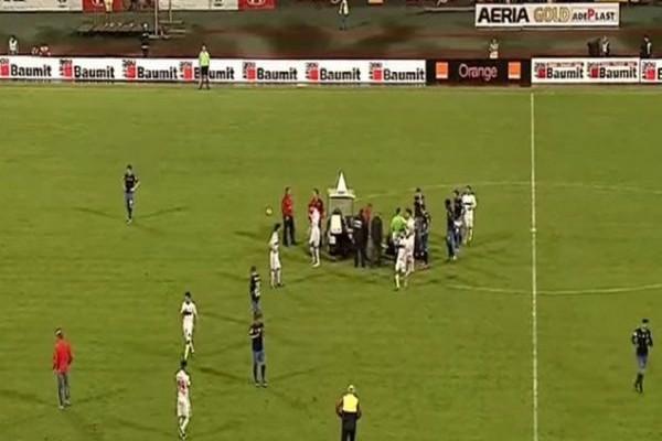 ΣΟΚ! Πέθανε ο ποδοσφαιριστής που είχε καταρρεύσει στο γήπεδο! (VIDEO)