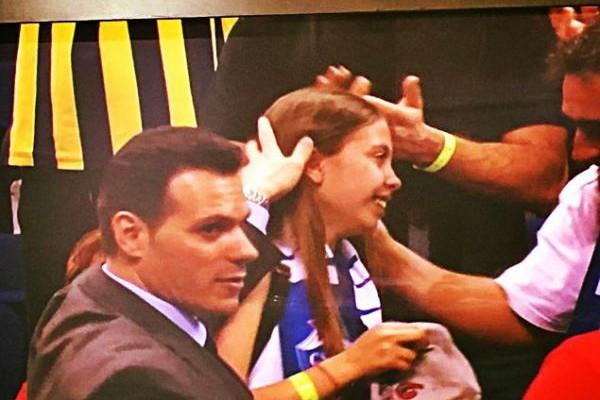 Final Four: Η συγκινητική αγκαλιά του Ιτούδη στην κόρη (VIDEO+ PHOTOS)