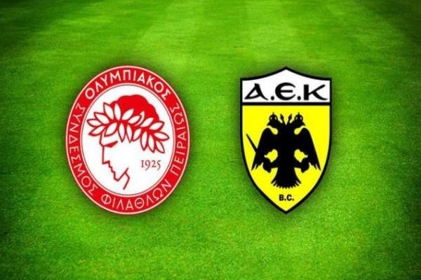 Επιτέλους ώρα τελικού: ΑΕΚ και Ολυμπιακός στην μάχη με έπαθλο το Κύπελλο Ελλάδος!