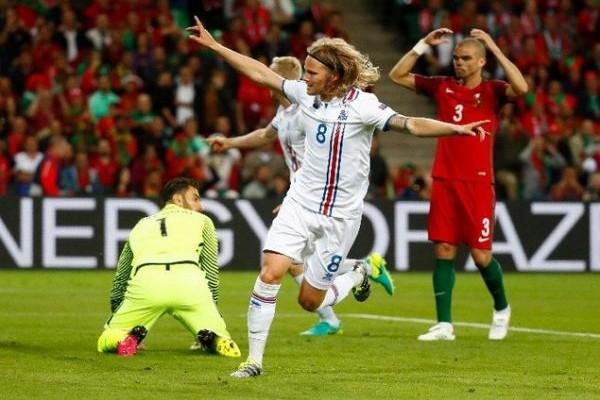 ΕURO 2016: Ιστορική γκέλα για την παρέα του Ρονάλντο, Πορτογαλία- Ισλανδία 1-1!