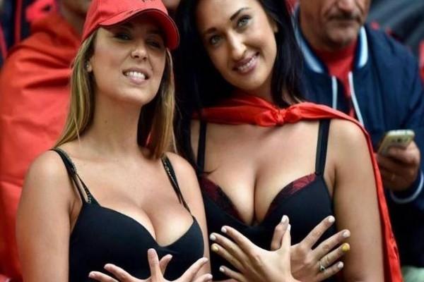 Οι δύο Αλβανίδες που έχουν τρελάνει όλο το Euro (PHOTOS)