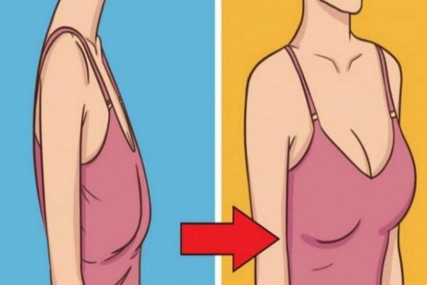 Κορίτσια δώστε προσοχή: 8 τρόποι για να καταπολέμησετε το πεσμένο στήθος!