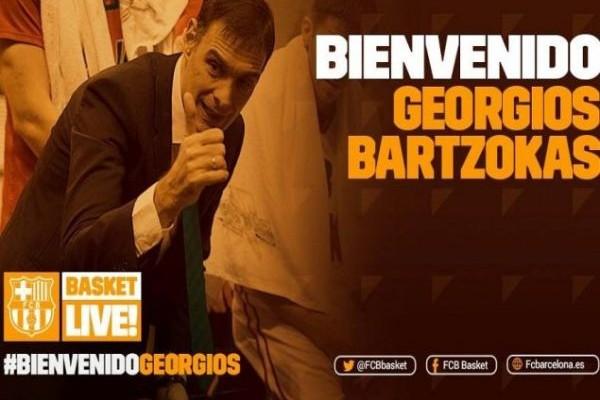Ανακοινώθηκε: Και επίσημα στην Μπαρτσελόνα ο Γιώργος Μπαρτζώκας!