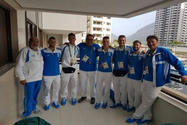 Κλαρινογαμπροί στο Ρίο: Δείτε πώς πήγε και κουρεύτηκε Έλληνας πρωταθλητής ενόψει Ολυμπιακών Αγώνων! (PHOTO)