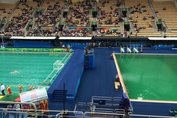 Μεγάλη ανησυχία στην Εθνική ομάδα πόλο! Σάλος καθώς γίνεται πράσινη και η πισίνα της υδατοσφαίρισης!