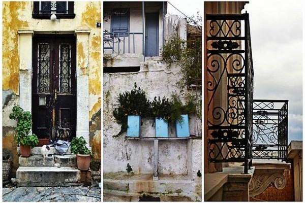 Εικόνες από μιαν άλλη Αθήνα: Βόλτα στην Πλάκα, αμέσως μετά τη βροχή (Photos)