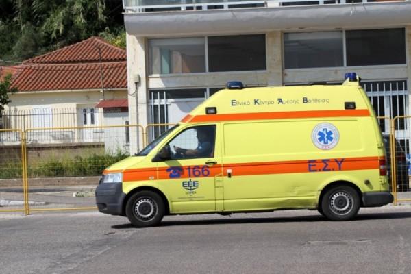 Αυτοπυρπολήθηκε Σύρος μετανάστης στη Χίο!  Τραυματίστηκε αστυνομικός