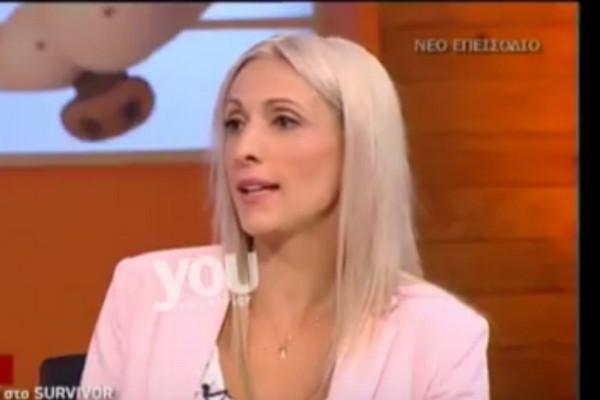 Η Ελένη Δάρρα αποκαλύπτει ποιος θα φύγει από την ομάδα των «Διασήμων»! Τι πιστεύει η ίδια; (video)