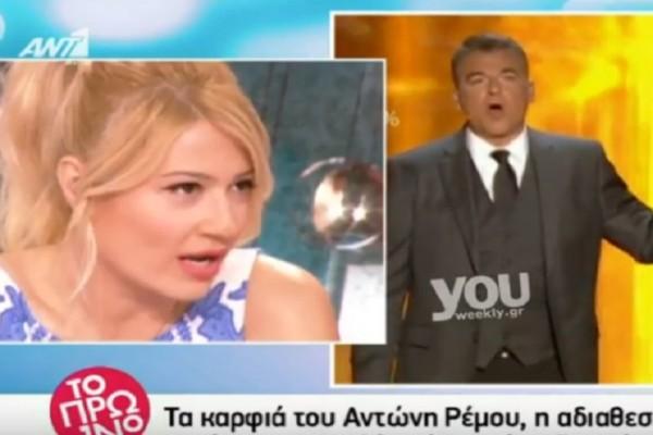 Η Φαίη Σκορδά σχολίασε τη λιποθυμία του Λιάγκα στο Rising Star: «Ο Γιώργος έχει…» (video)