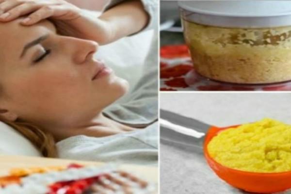 Κάνει θαύματα: Πώς να χρησιμοποιήσετε την πιπερόριζα για να ανακουφιστείτε γρήγορα από τον πονοκέφαλο!