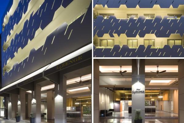 Lozenge! Αυτό είναι το ολοκαίνουριο design ξενοδοχείο στην καρδιά της Αθήνας σε μια πρώτη… εμφάνιση!