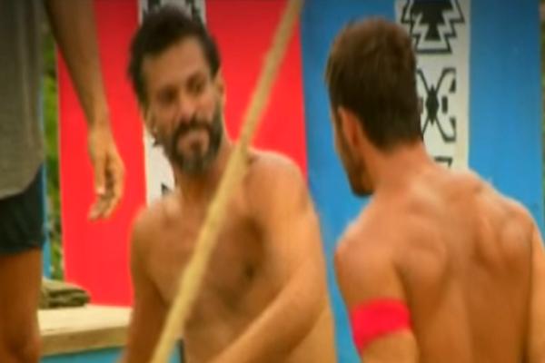 Survivor: Πιάστηκαν στα χέρια Χρανιώτης και Ντάνος! Αποκλειστικό βίντεο