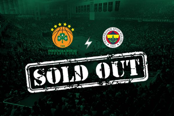 Όποιος πρόλαβε εισιτήριο πήρε: Διπλό sold out μέσα σε λίγες ώρες για το Παναθηναϊκός - Φενέρ!