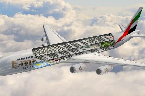 Στην Emirates τρελάθηκαν! Δείτε αποκλειστικά τα σχέδια για το μεγαλύτερο αεροσκάφος στον κόσμο!