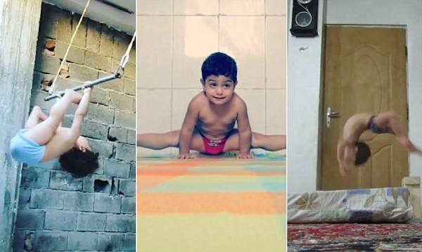 O δίχρονος... Λευτέρης Πετρούνιας! Είναι μόλις 2 ετών και δεν μπορείτε να φανταστείτε τι κάνει (photos+video)