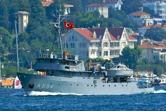 Έπος: Το τουρκικό πλοίο που τρομάζει την Αθήνα αλλά προκαλεί άφθονο γέλιο με το όνομά του (photo)