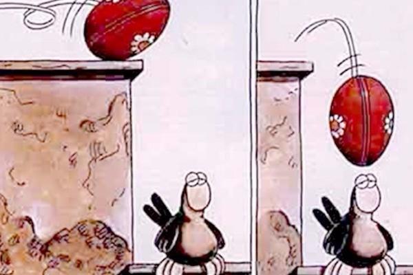 Τα καλύτερα σκίτσα του Αρκά για το Πάσχα!