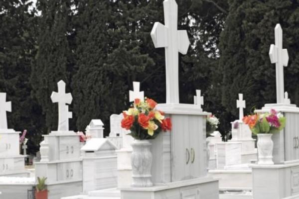 Είμαστε με τα καλά μας; Δεν φαντάζεστε τι έκλεψαν από νεκροταφείο της Αχαΐας! (photo)