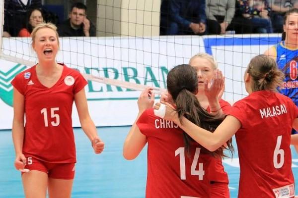 Κοριτσάρες από χρυσό: Στον τελικό του ευρωπαϊκού ο Ολυμπιακός!