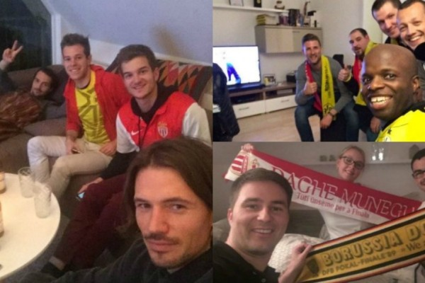 Αυτό είναι ποδόσφαιρο: Οπαδοί της Ντόρτμουντ φιλοξενούν αντίστοιχους της Μονακό στα σπίτια τους! (photos)
