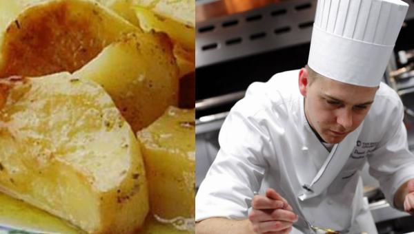 Το μυστικό των σεφ για να φτιάξεις τις πιο νόστιμες πατάτες φούρνου!
