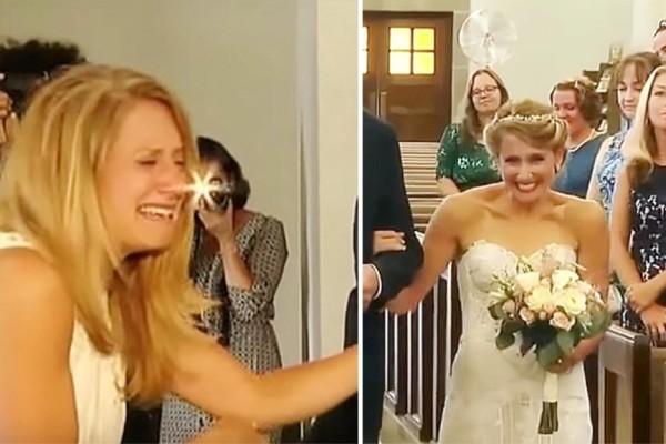 Ο μπαμπάς της νύφης δολοφονήθηκε λίγο πριν τον γάμο. Όταν δείτε όμως ποιος την συνοδεύει στην Εκκλησία, θα συγκλονιστείτε!