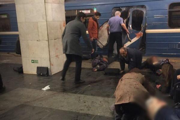 Εικόνες σοκ από την έκρηξη στο Μετρό της Αγίας Πετρούπολης!