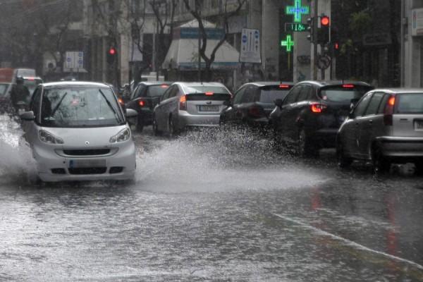 Ραγδαία κακοκαιρία χτυπάει από σήμερα την χώρα! Ισχυρές καταιγίδες και χαλάζι