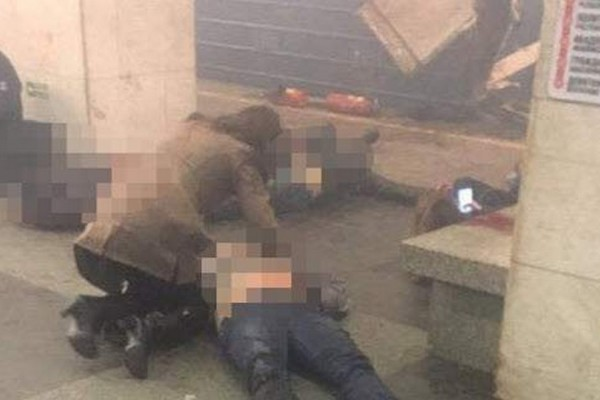 Έκρηξη στο μετρό της Αγίας Πετρούπολης! Πληροφορίες για 10 νεκρούς και 30 τραυματίες