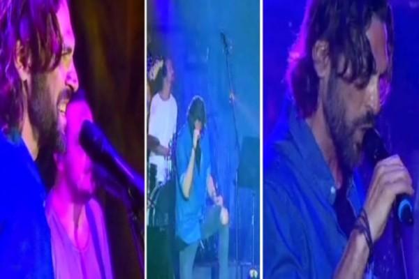 Κλάμα: Ο Σπαλιάρας τραγούδησε Ρουβά και έπεσαν τα τσιμέντα στον Άγιο Δομίνικο! (Video)