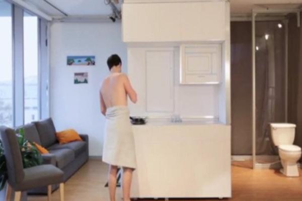 Σας βρήκαμε το ιδανικό σπίτι του μέλλοντος: πέντε ευρύχωρα δωμάτια μέσα σε 18 τ.μ! (Video)