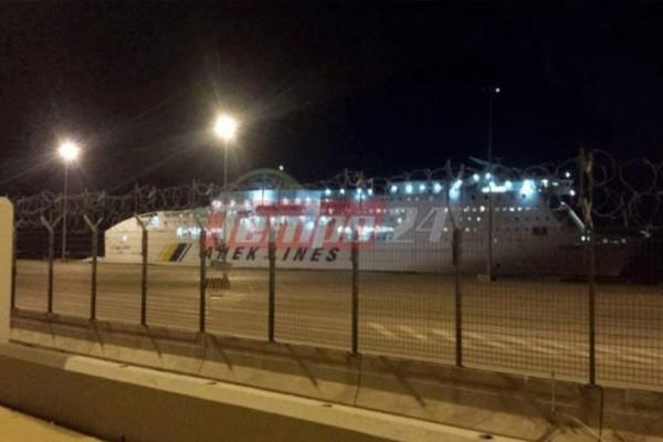 Είδηση - σοκ: Πλοίο προσέκρουσε στο λιμάνι της Πάτρας!