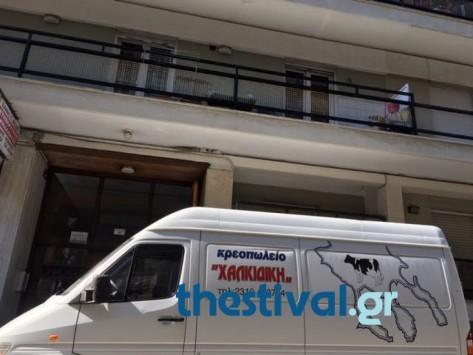 Φρίκη στην Θεσσαλονίκη: 18χρονη βούτηξε στο κενό μετά από καυγά και έπεσε σε φορτηγό! (photo)