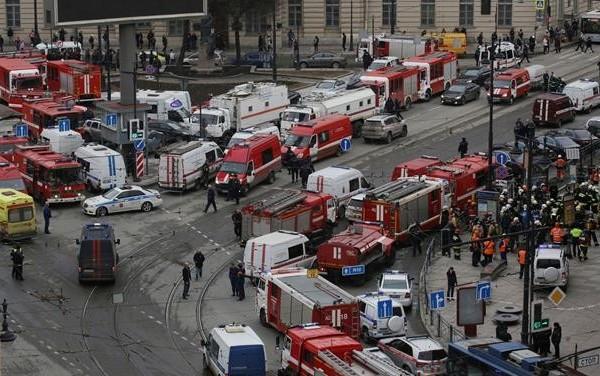 Συναγερμός: Νέα έκρηξη στην Αγία Πετρούπολη!