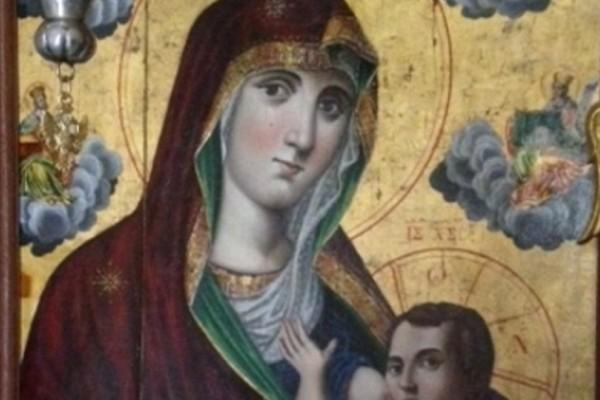 Δεν την έχετε ξαναδεί: Σπάνια εικόνα της Παναγίας να θηλάζει τον Ιησού με ακάλυπτο το στήθος (photos)