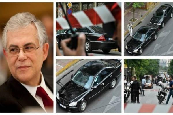 Βίντεο - ντοκουμέντο λίγα λεπτά μετά την έκρηξη στο αυτοκίνητο του Παπαδήμου! (Videos & Photos)