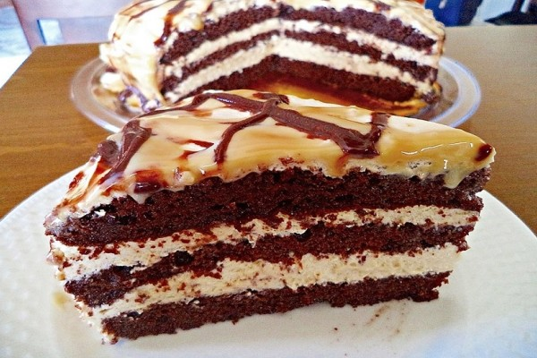 Φτιάξτε την πιο εύκολη τούρτα καραμέλα