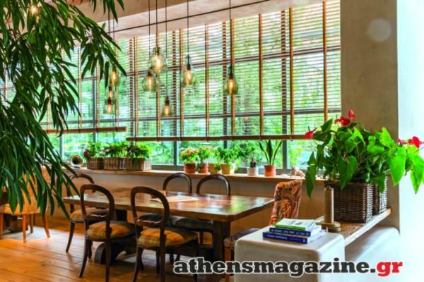 Σε αυτό το εστιατόριο καλλιεργούν τον καφέ και τα ροφήματα τους στον κήπο τους! Αν είσαι χορτοφάγος και λάτρης της υγιεινής διατροφής θα σε ενθουσιάσει!